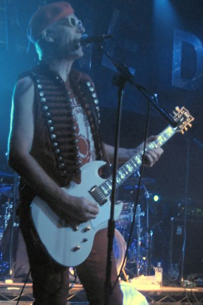 The Damned's Captain Sensible and his ESP LTD Viper 1000 Deluxe