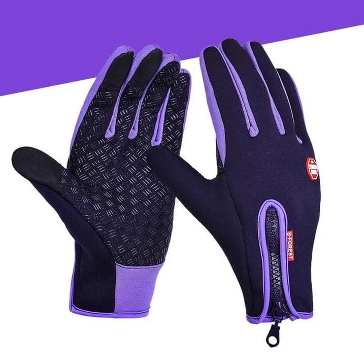 Youngate Mens Winter Waterproof Warm Lined Gloves For Climbing Cycling Skiing
