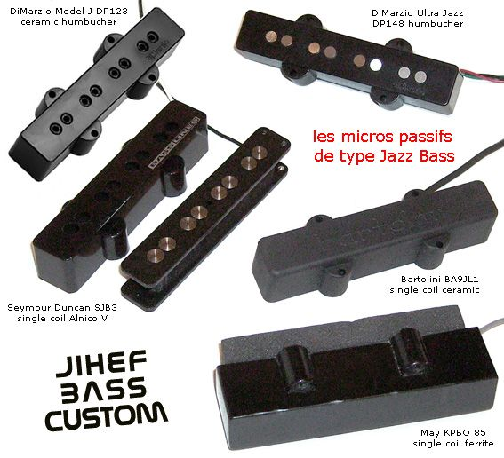 Jihef Bass Custom Remplacer Un Micro Basse De Type Jazz Bass