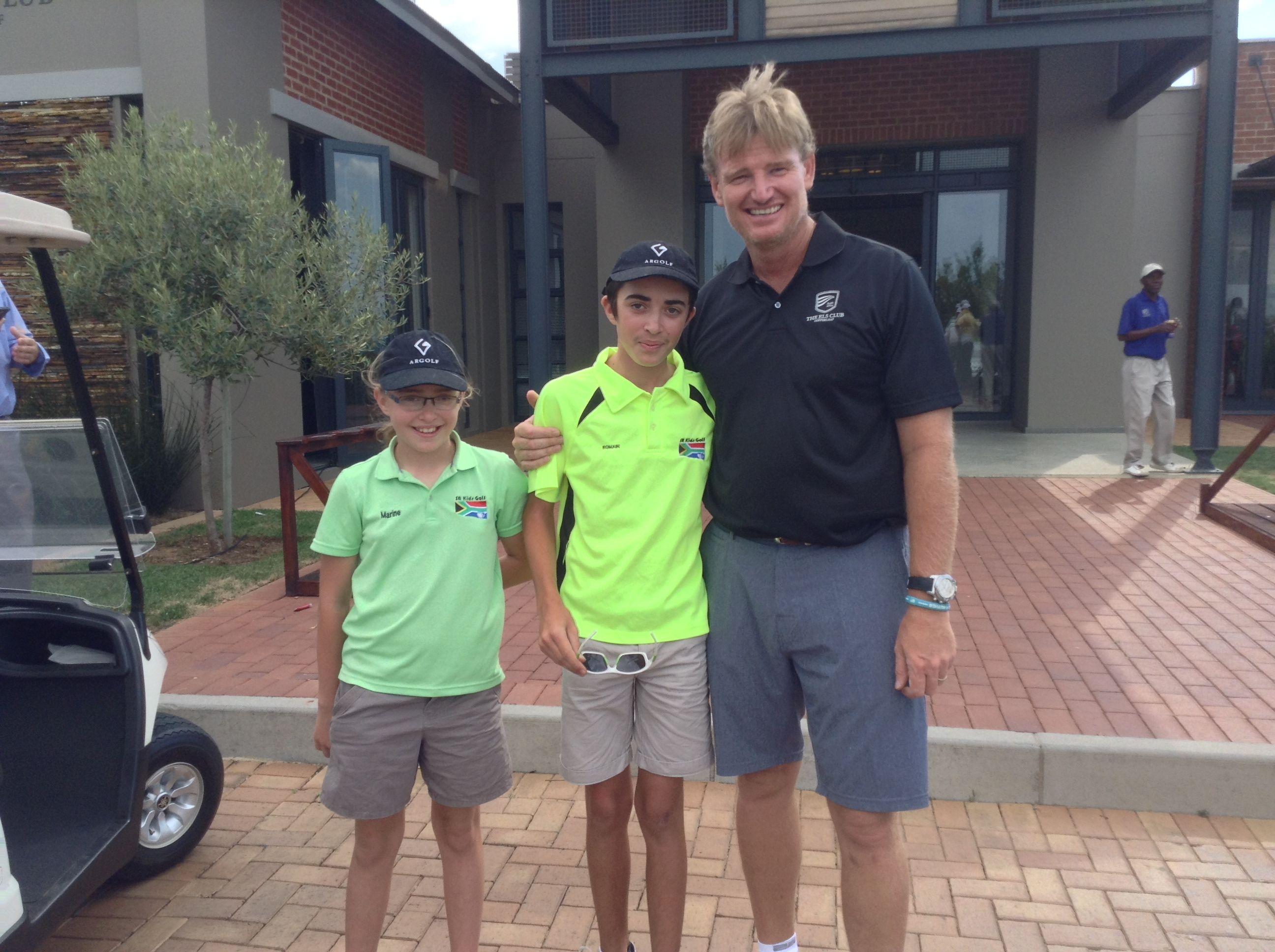 Ernie ELS at his Home golf course Ernie els, Golf