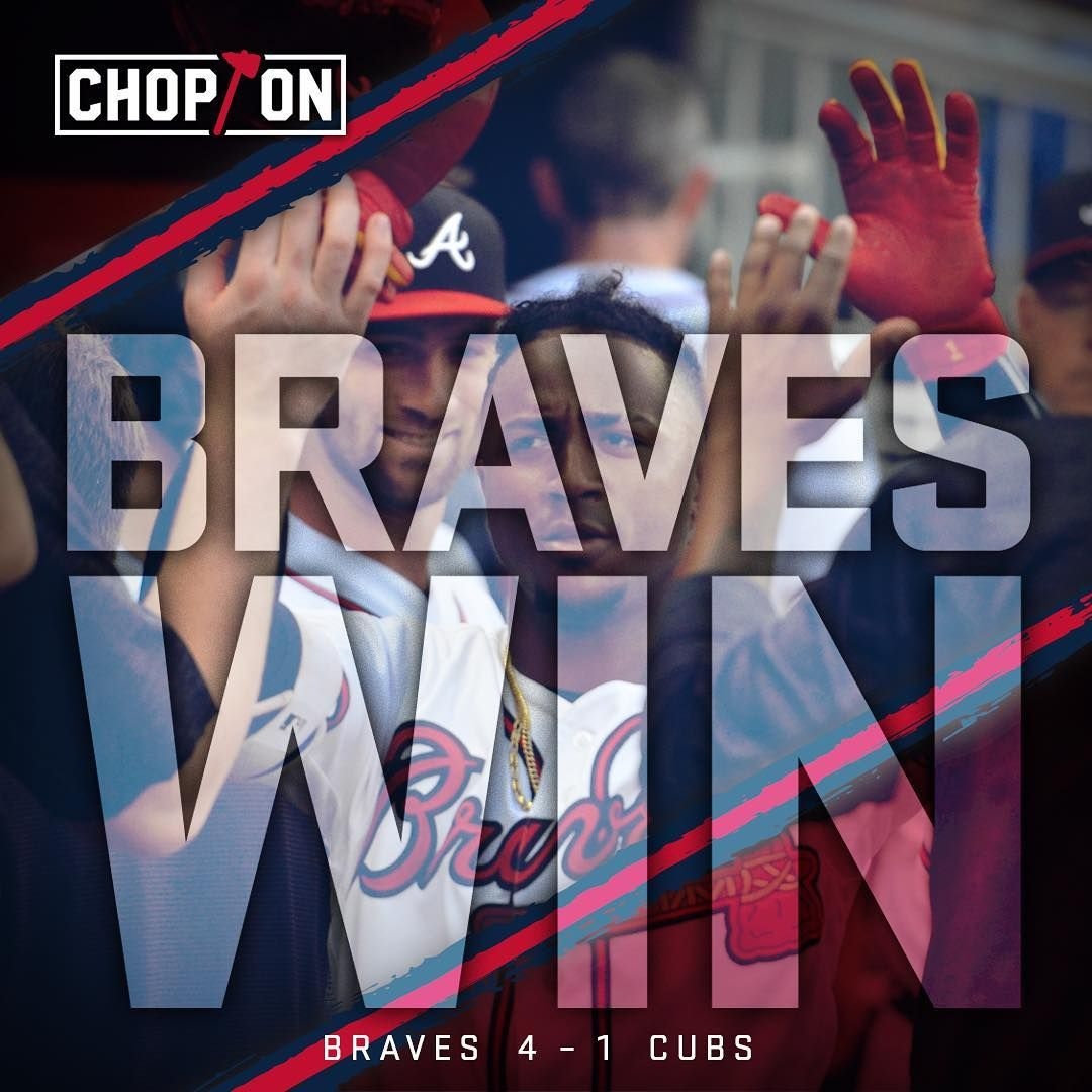 Now That S More Like It Chopon Atlanta Braves Braves Atlanta
