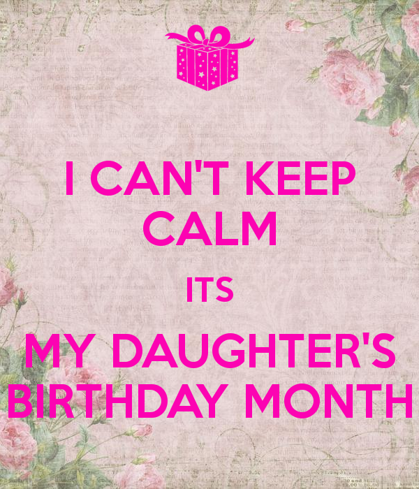 i can\'t keep calm it\'s my daughters birth month - Yahoo Image Search ...