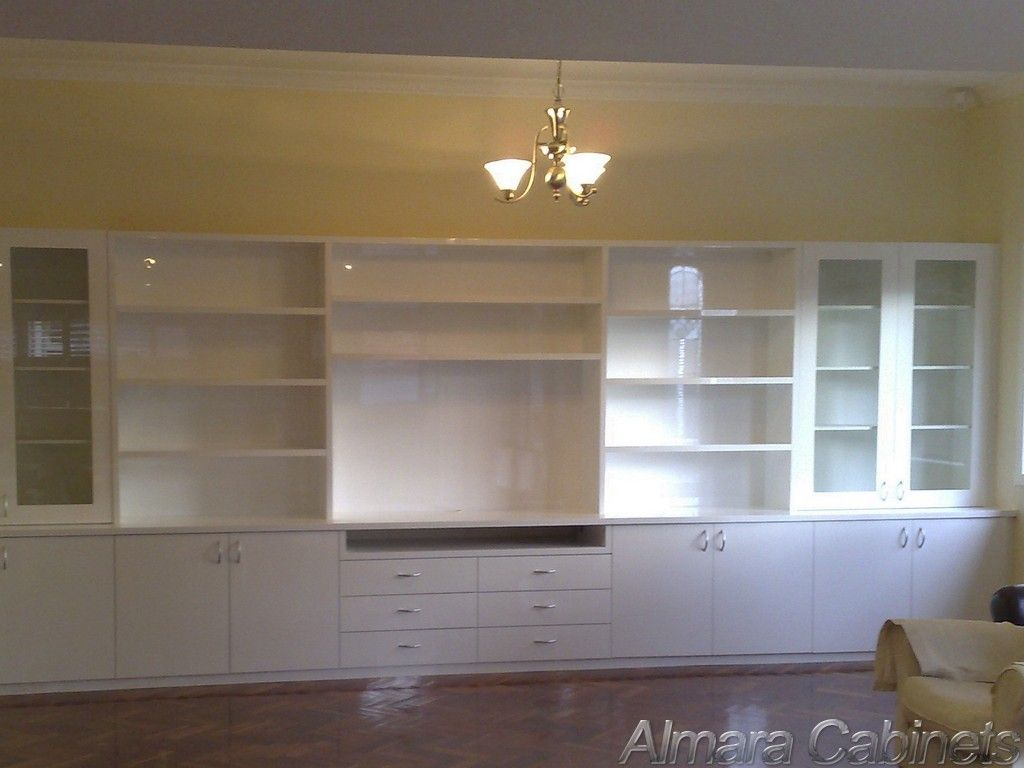 desk and cabinet wall units for family room - yahoo image search