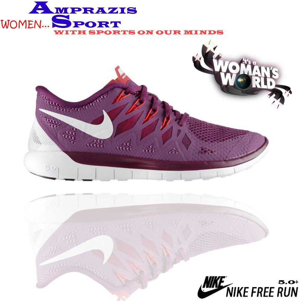 Nike Free 5.0 for women. #papoutsia #nike (follow us on Instagram: