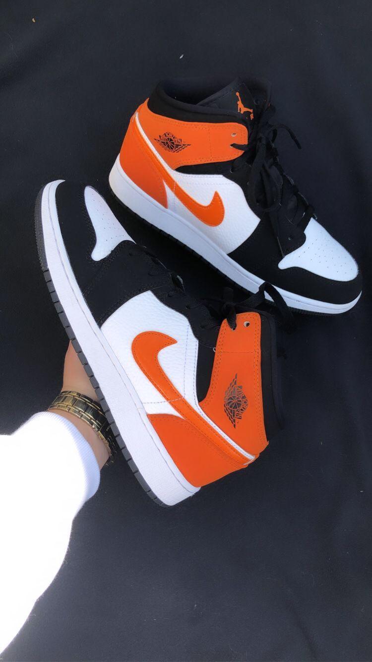 orange ones jordans