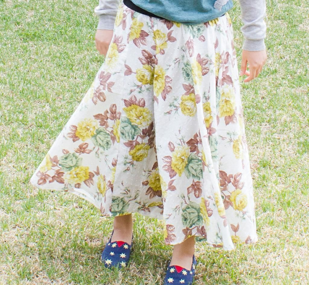 FREE #789 Ariel Maxi Circle Skirt PDF Pattern | Lass Sewing | Pinterest
