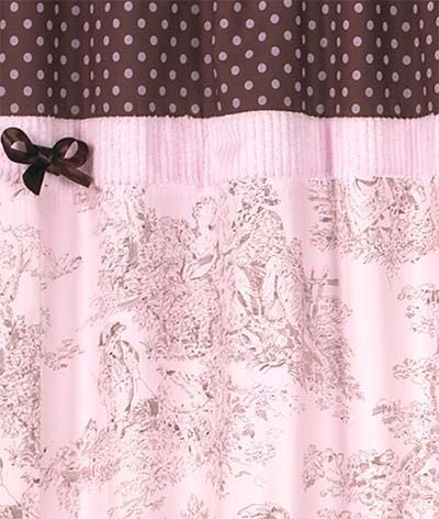 Brown Pink Pink Shower Curtains Pink Showers Fabric