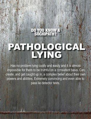 compulsive lieing
