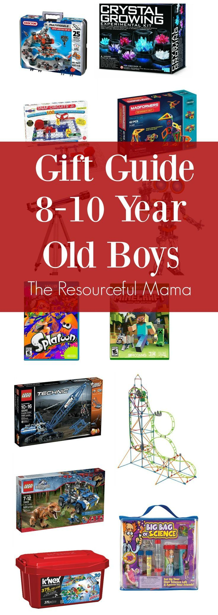 Love These Gift Ideas For 8 10 Year Old Boys Great Christmas Or Birthday Presents Tween