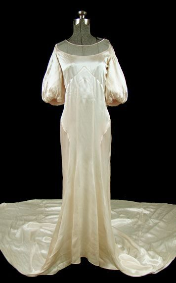 Wedding Dress 1930s The Frock