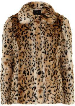 3aa0ffc7f8 Faux fur leopard print coat on shopstyle.com   Cheetah Girl ...
