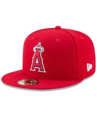 f42c36bb27f New Era Los Angeles Angels Game of Thrones 59FIFTY Fitted Cap - Red 7 5 8