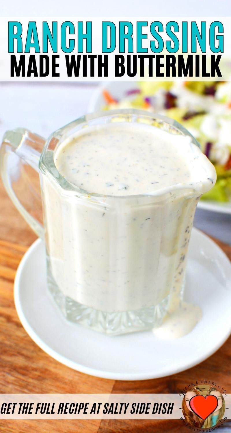 Outstanding Ranch Dressing Recipe Video In 2020 Buttermilk Ranch Dressing Recipe Ranch Dressing Recipe Recipes