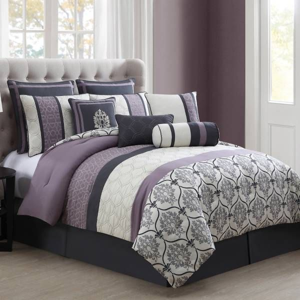 bed bath and beyond for the home pinterest bath purple gray