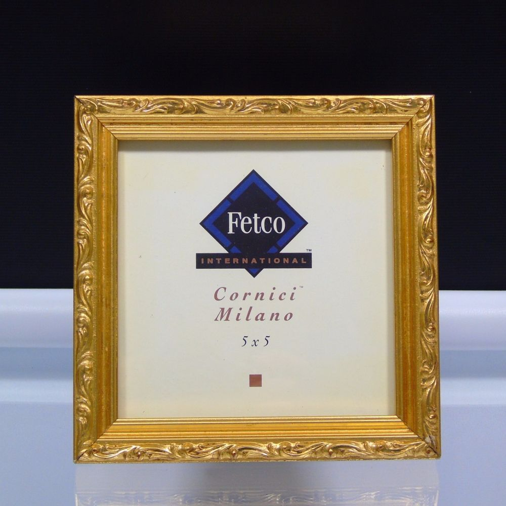 Fetco International Picture Frame Cornici Milano Ornate Gilded ...