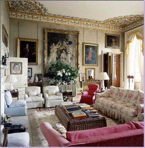 Country english home decor