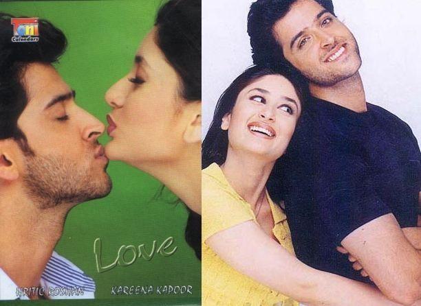 Old Pics Kareena Kapoor Hrithik Roshan S Photoshoot For Kaho Na Pyar Hai Hrithik Roshan Photoshoot Kareena Kapoor