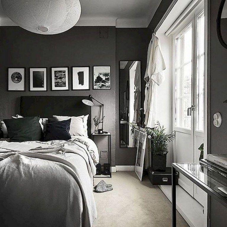 Photo of 50 Men's Bedroom Ideas Masculine Interior Design Inspiration #bedroomdesignideas…