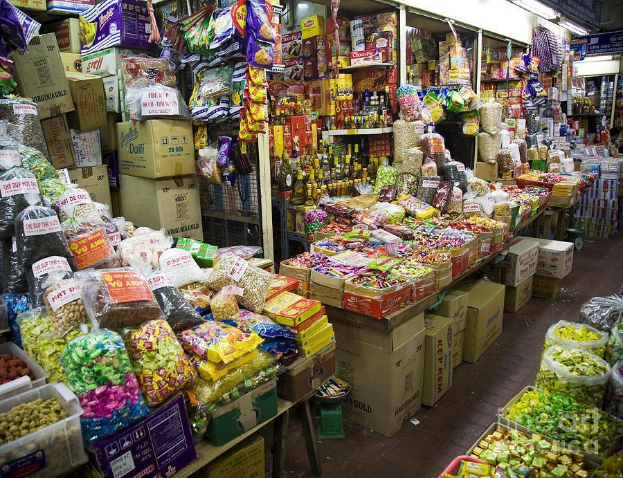 Market In Ho Chi Minh City Saigon Vietnam By David Buffington Ho Chi Minh City Saigon Vietnam Saigon