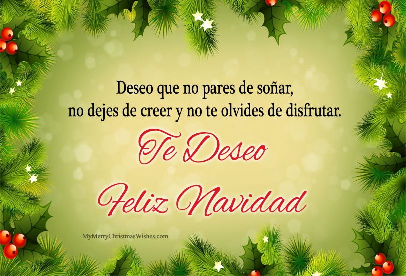 Merry Christmas Wishes Quotes Messages In Spanish Language Merrychristmas Xmas2018 Feli Merry Christmas In Spanish Spanish Christmas Spanish Christmas Cards