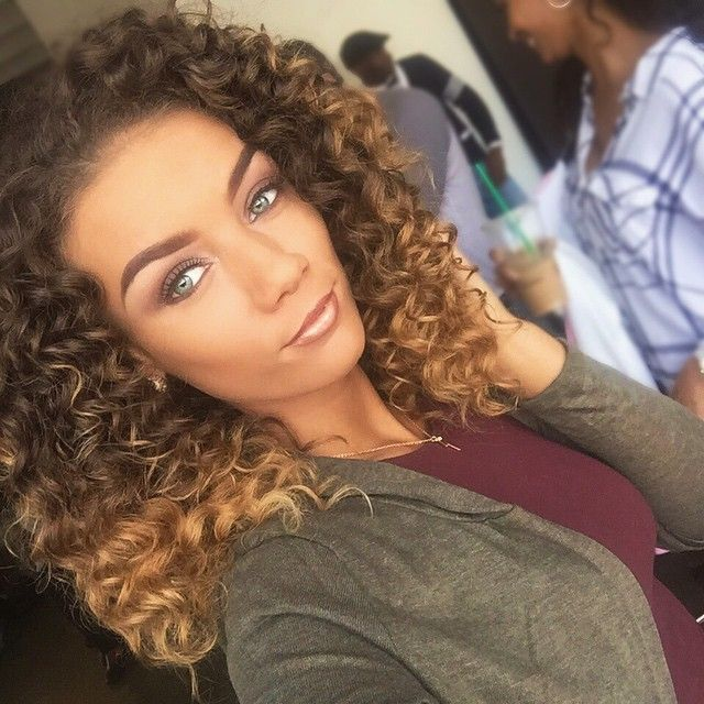 Jena Frumes Jenafrumes I Love My Ombre Instagram Photo Websta Curly Hair Styles Blonde Highlights Hair Inspiration