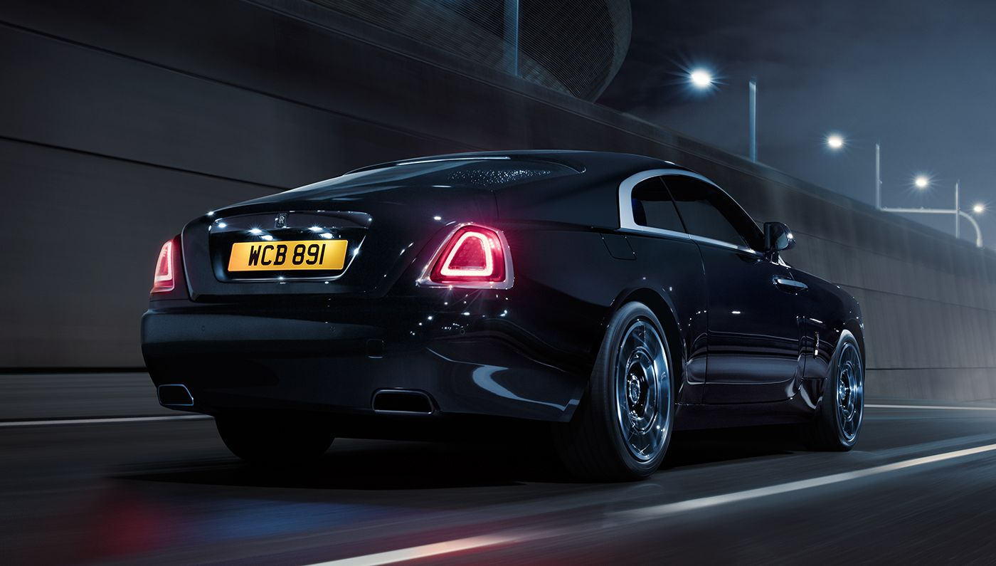 rolls royce black badge series available for the wraith or ghost rh pinterest com