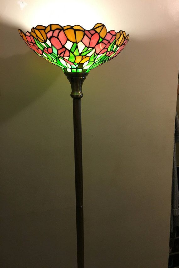 Tiffany style floor lamp tiffany lamps pinterest floor lamp tiffany style floor lamp aloadofball Image collections