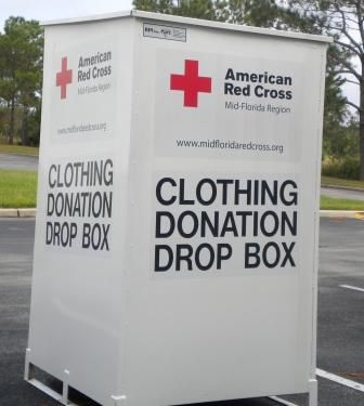 Drop Box Locations Charity Clothing Pickup Collecting