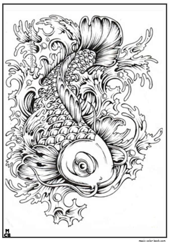 japanese coloring pages - Pattern Coloring Pages For Adults