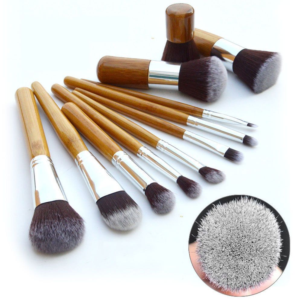 Pin by Fairy on Products Cosmetic brush set, Bamboo