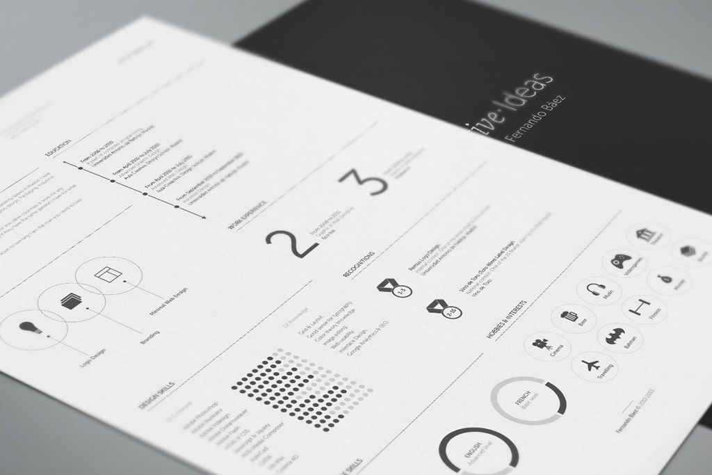 The Best CV \ Resume Templates 50 Examples Design Shack - examples of personal resumes