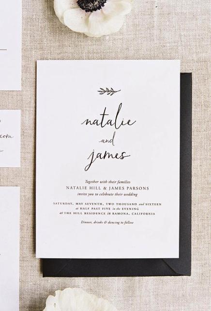 Pin On Simple Wedding Invitations