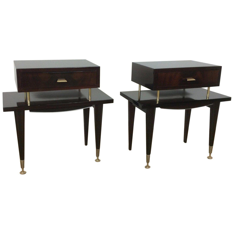 Best Midcentury Bedside Cabinets Bedside Table Design Black 400 x 300