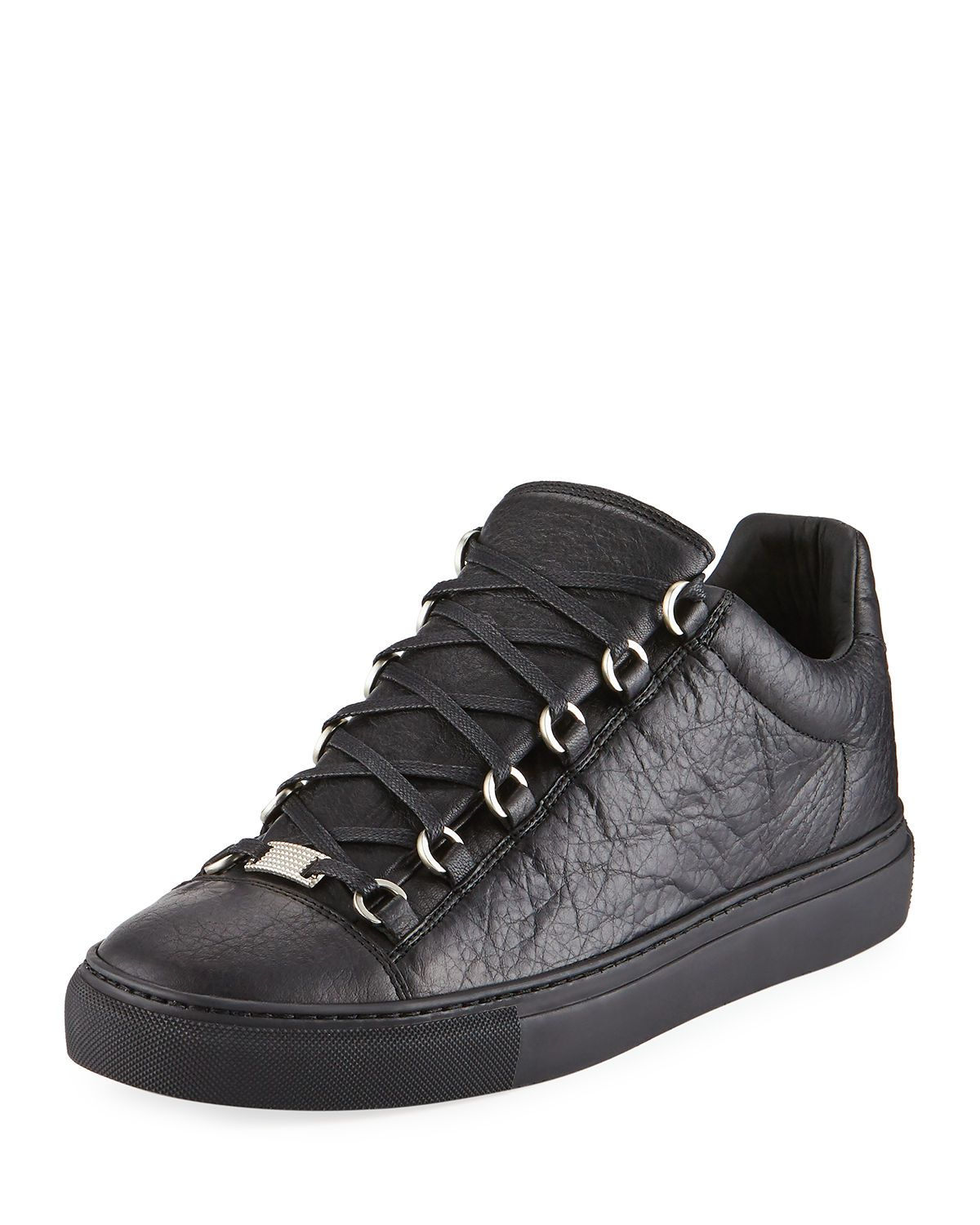 d3d8f7cdb3e7 Men s Arena Leather Low-Top Sneaker