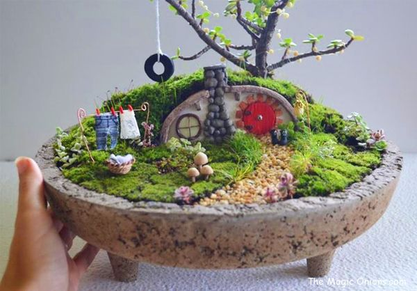 17 Best 1000 images about Fairy Gardens on Pinterest Gardens Fairy