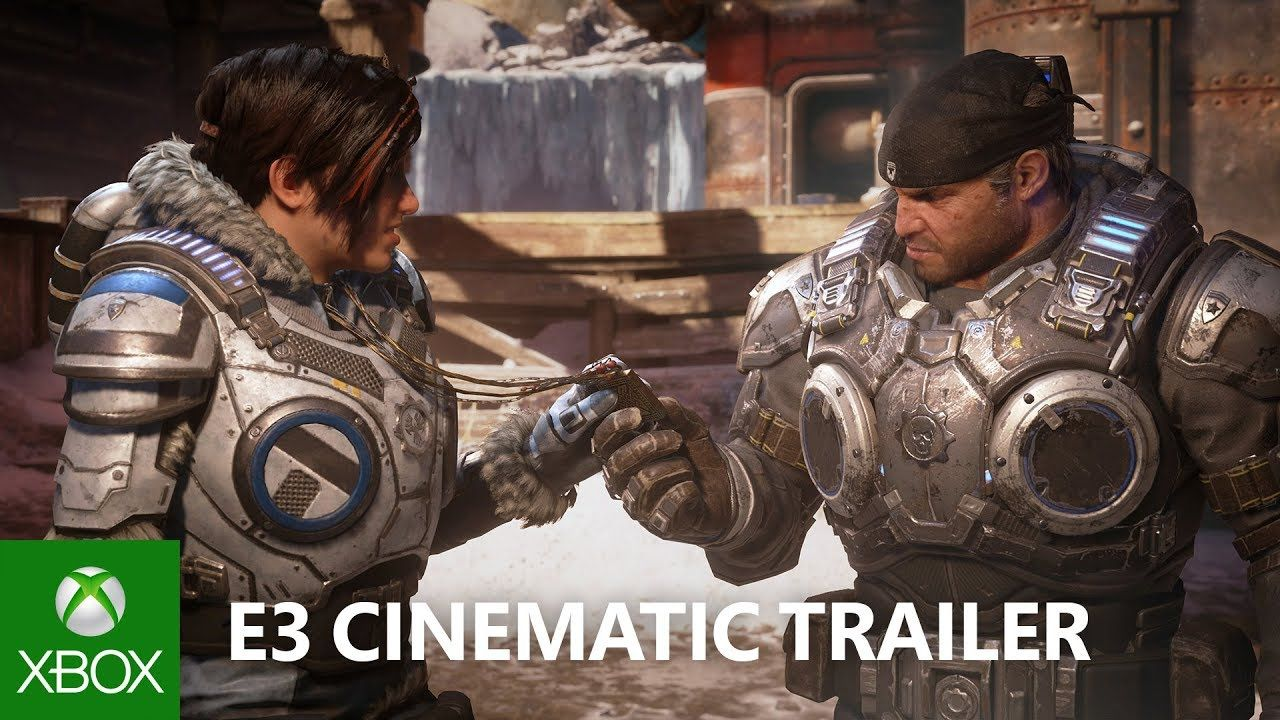 Gears 5 E3 2018 Cinematic Announce Trailer Youtube Gears