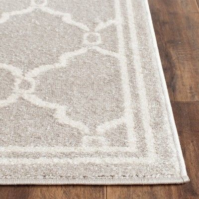 Prato 2 3x21 Indoor Outdoor Runner Indoor Outdoor Rug Gray