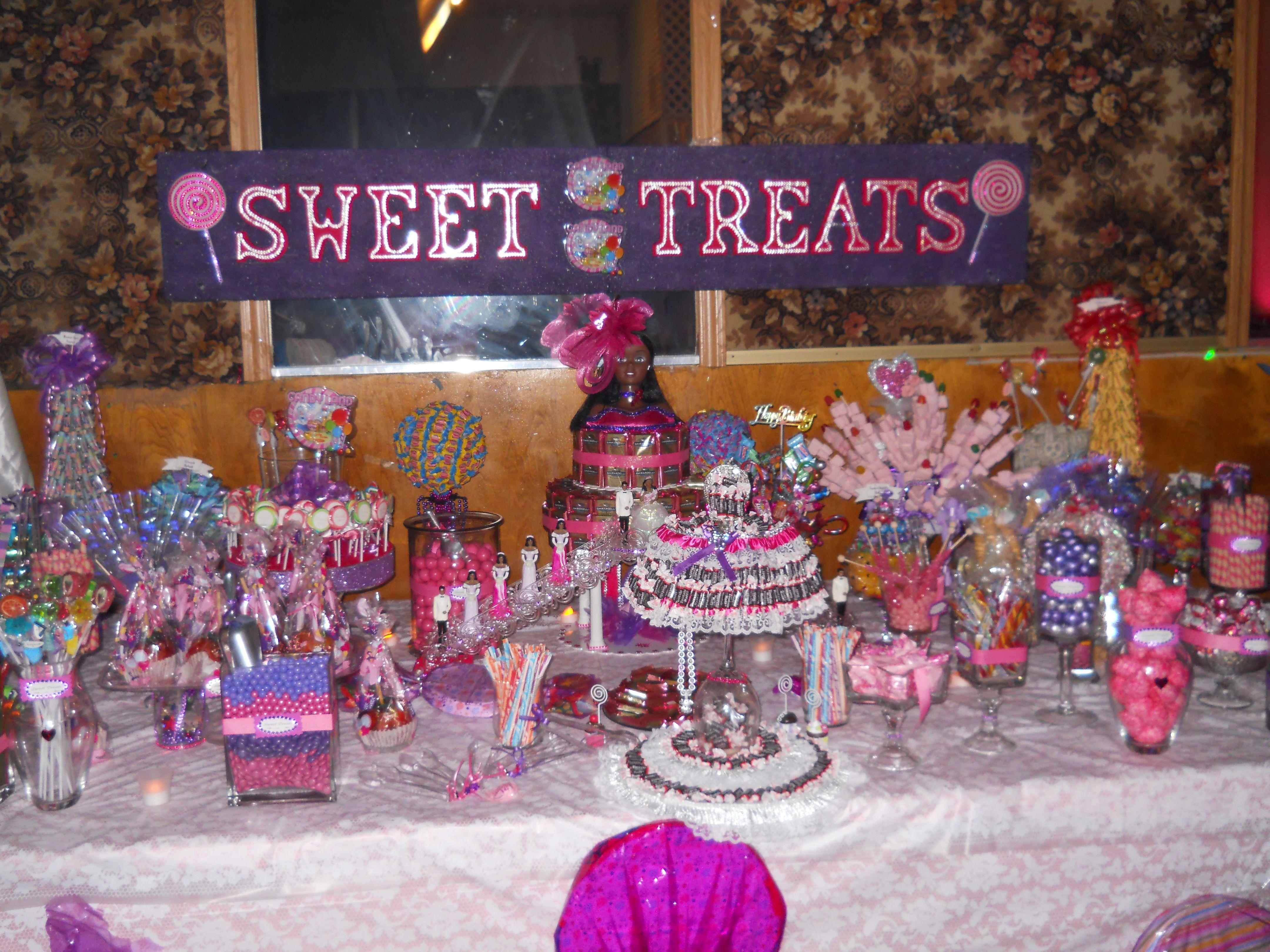 Candy buffet ideas for sweet sixteen - Sweet 16 Candy Bar Sweet 16 Partiesbuffet