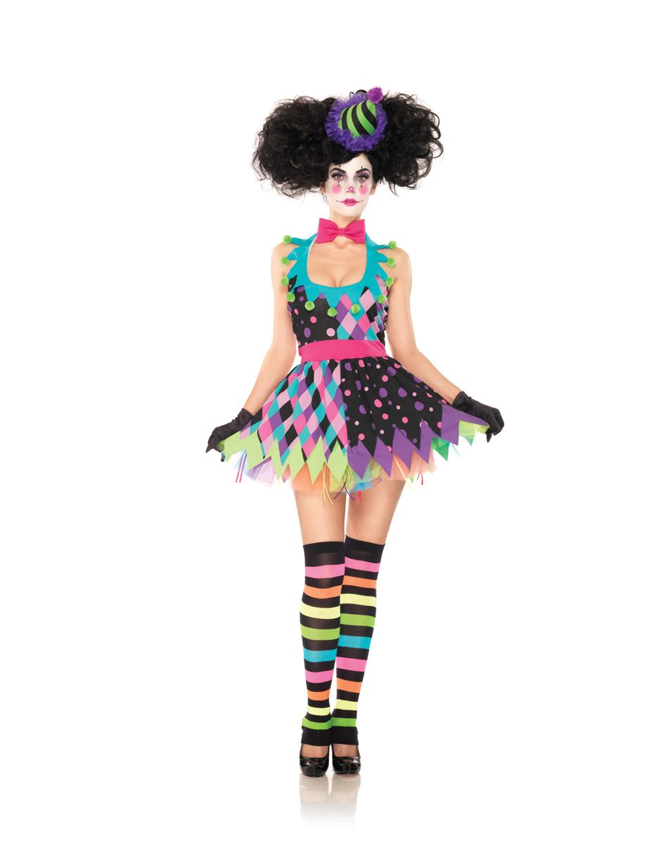 Homemade clown costume!! The fascinator and tutu were both made by ...