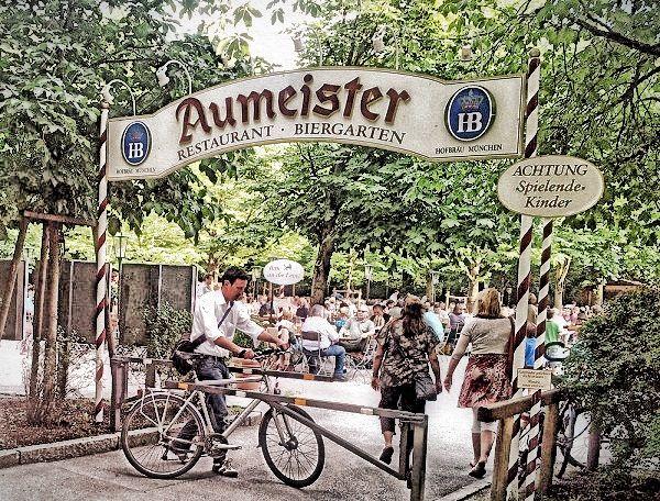 Aumeister Biergarten Radtour In Munchen Biergarten Biergarten Munchen Bier