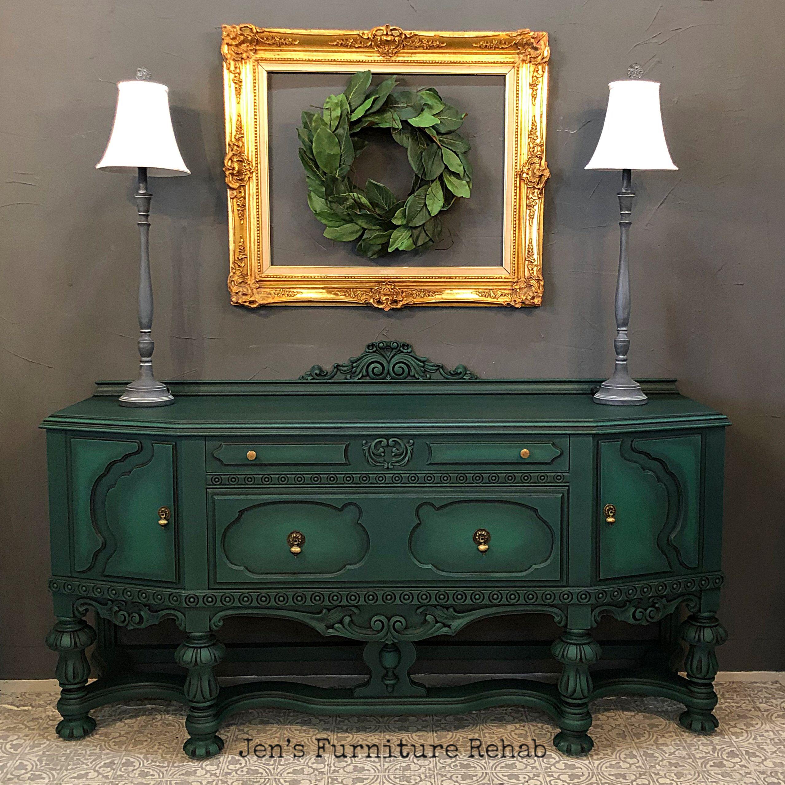 Emerald Green Buffet