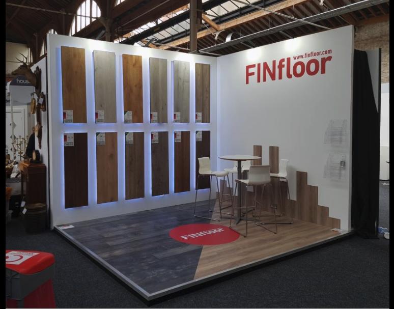 Exhibition Stand Builders Dublin : Finsa flooring exhibition trade show stand rds dublin
