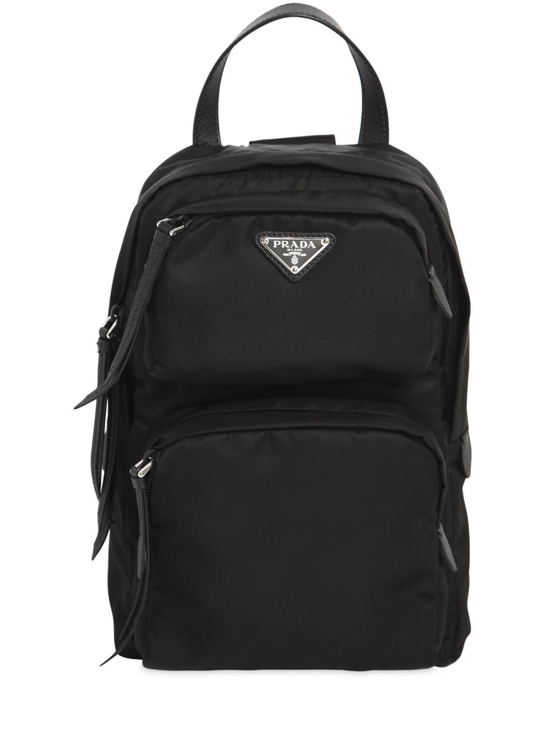 a5d92c9f3524 ... wholesale prada one shoulder nylon backpack. prada bags leather lining  nylon e3f9d 7abc0