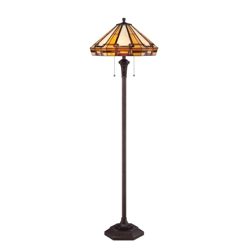 This Tiffany Style Floor Lamp Is Made Of 264 Pieces Of Neutral Toned Art Glass To Complement A Multitude Of Room Deco Tiffany Style Floor Lamps Lamp Floor Lamp