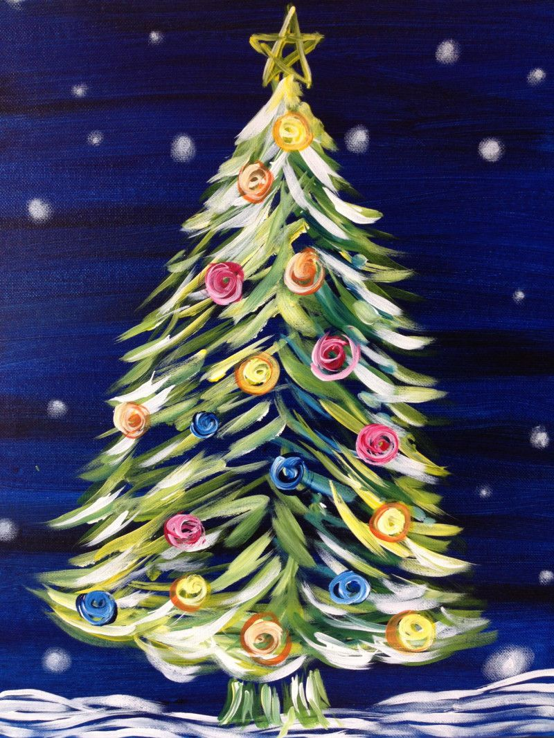 Image result for Painting with a Twist Christmas