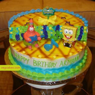 birthday cakes for kidsspongebob birthdaycustom birthday cakes