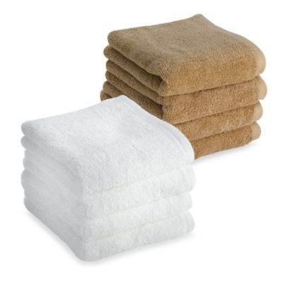 Tranquility Hand Towels Set Of 4 Bedbathandbeyond Com Hand