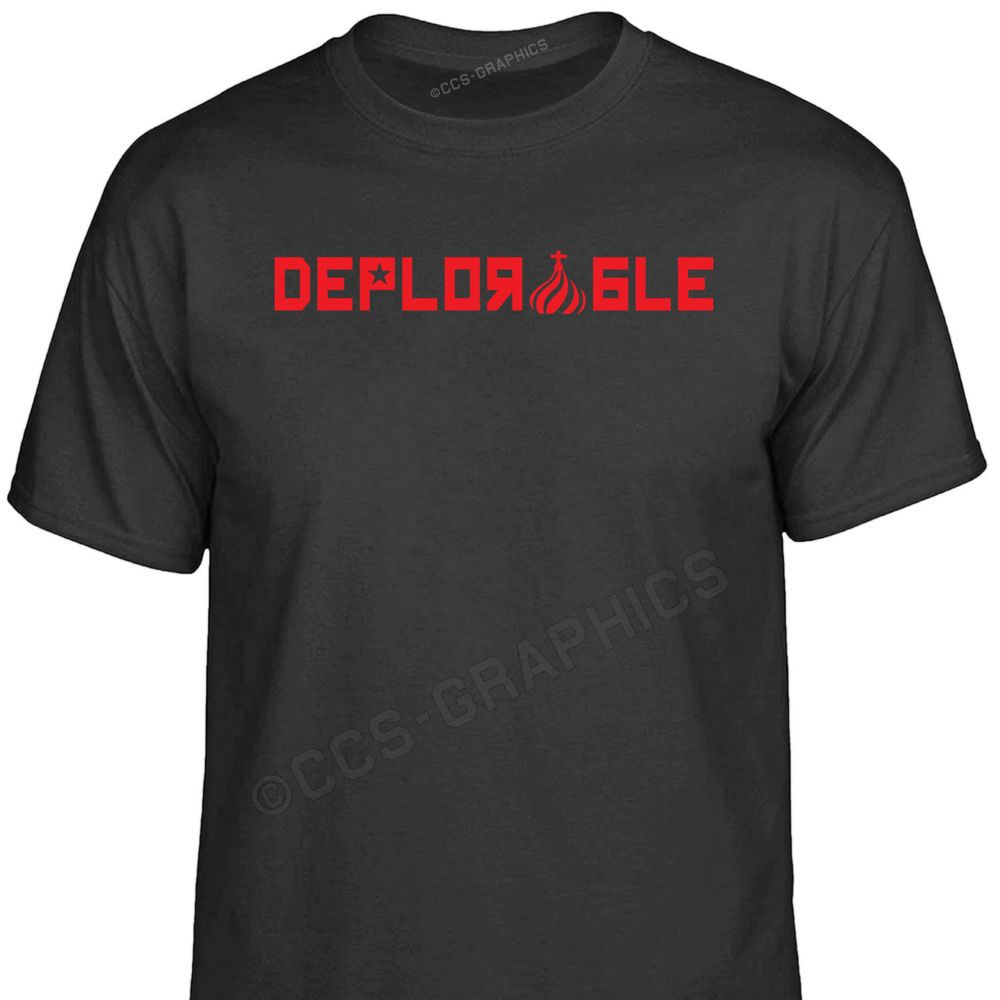 Russian Style DEPLORABLE T-Shirt USA basket trump russia gamer hackers election