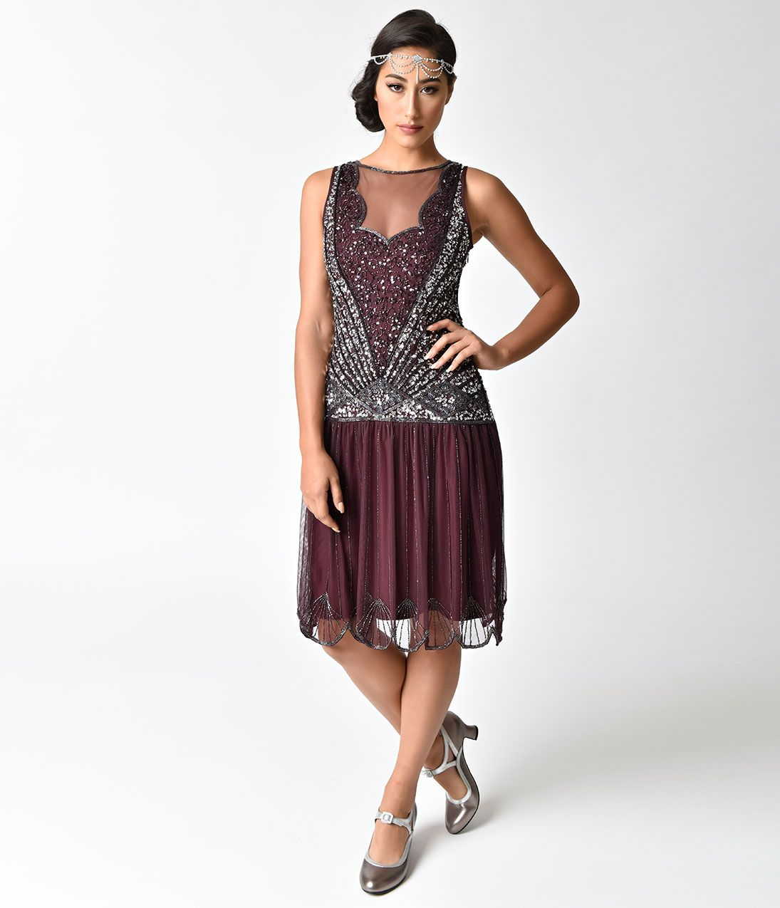 1920s Evening Dresses & Formal Gowns 1920s evening dress