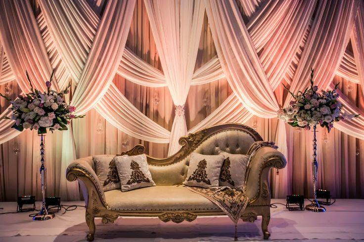 Balasubramanian Who Has Been In The Wedding Pakistani StagePunjabi WeddingWedding Stage DecorationsWedding